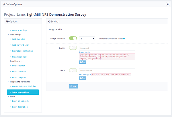 Net Promoter Score email surveys